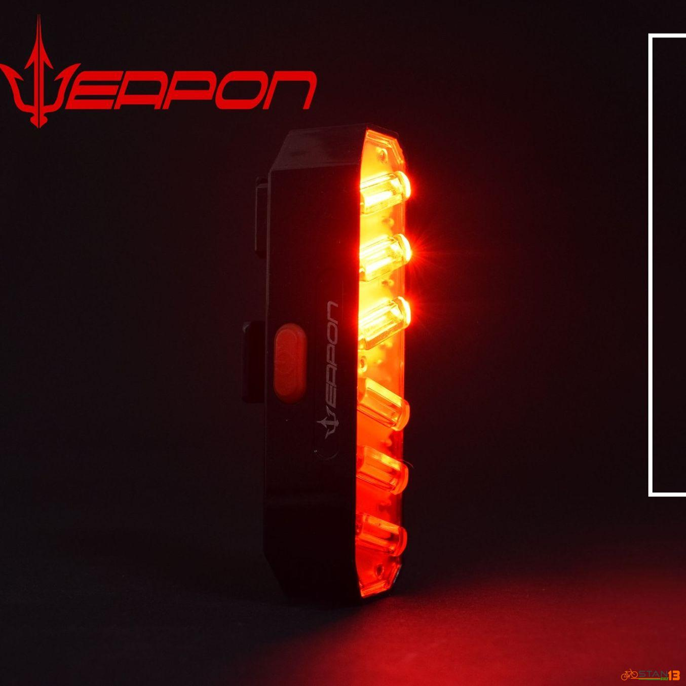 Light Weapon Flare WIRELESS Directional Tail Light 200 Lumens 800 mAh