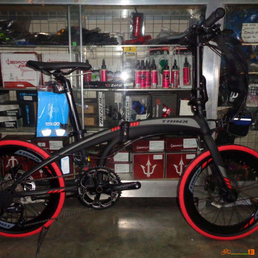 Trinx Dolphin 3.0 FULL Alloy Folding Bike with Shimano Sora Parts