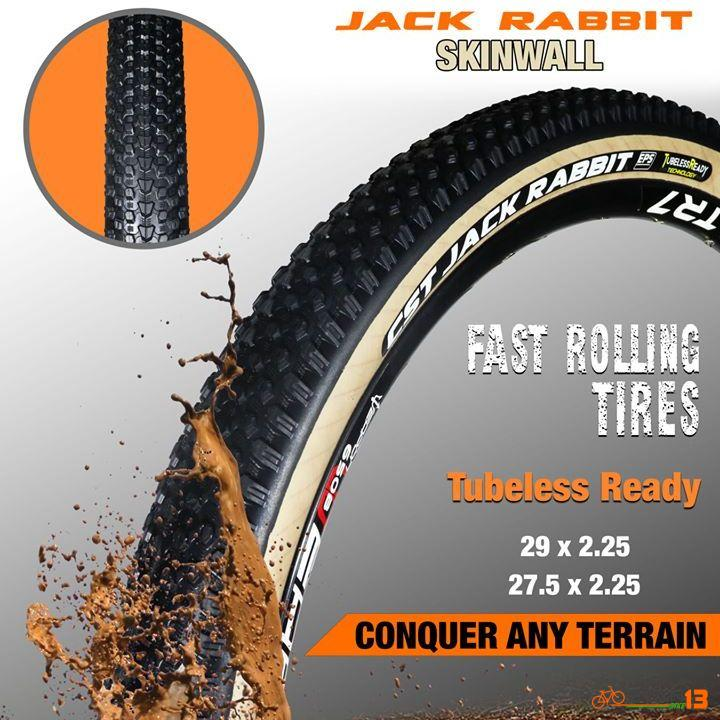 CST JACKRABBIT and CST PATROL SKINWALL & TUBELESS READY Tires!