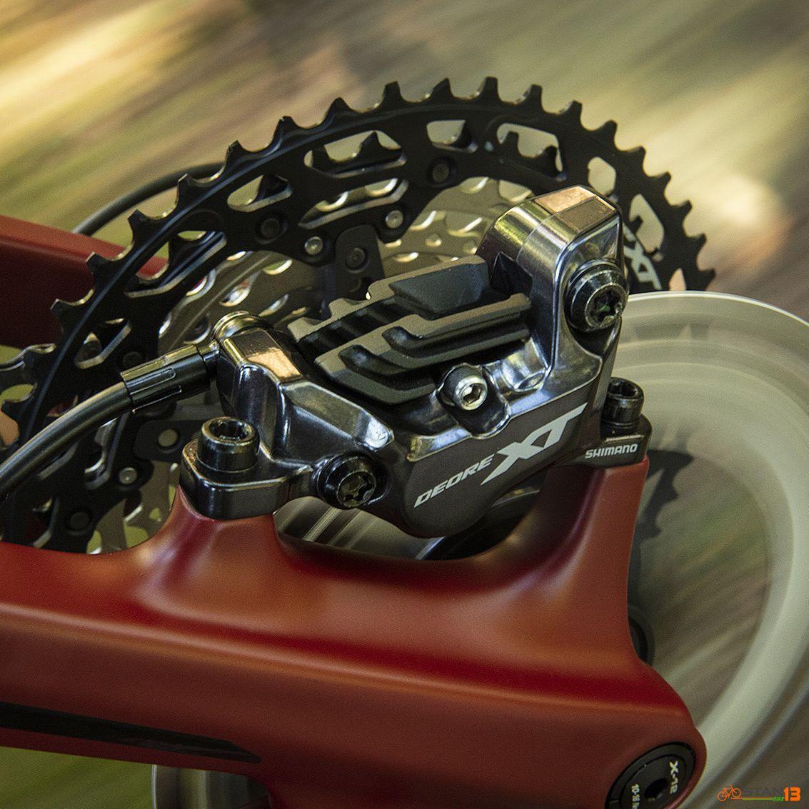 Brake Shimano XT Hydraulic Brake BR-M8120 4 Piston Japan Model 2020