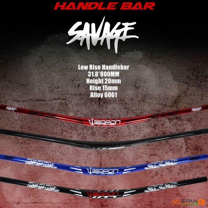 Handlebar Weapon Savage Low Rise 800mm