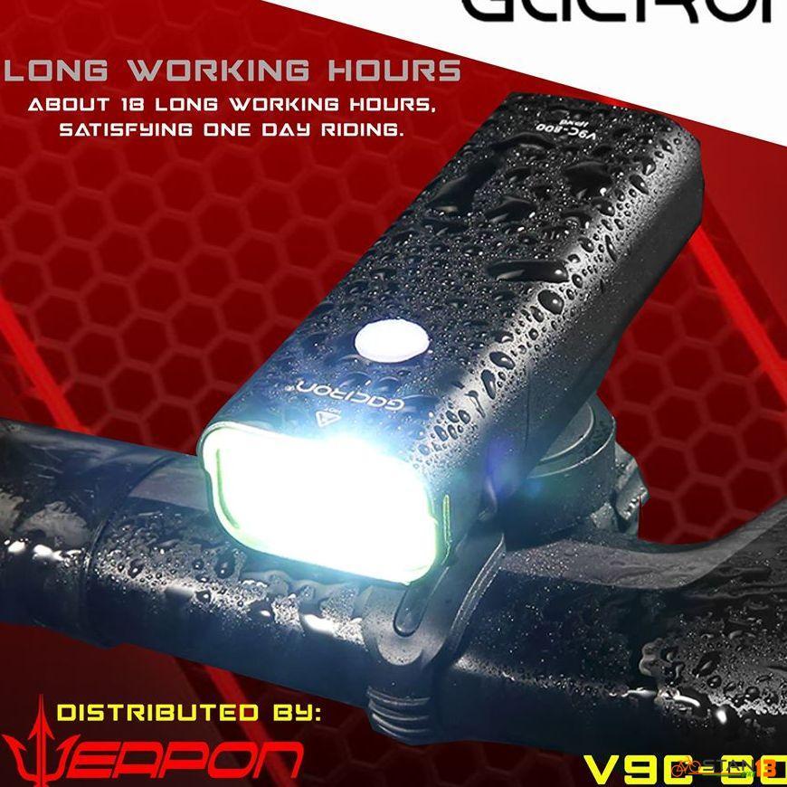Lights Gaciron 800 Lumen Bicycle Headlight V9C-800