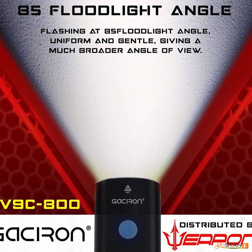 Lights Gaciron 800 Lumen Bicycle Headlight V9C-800