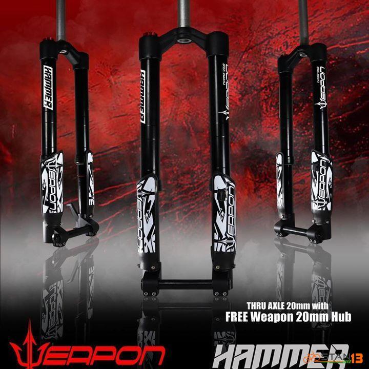 Fork Weapon Hammer Inverted Fork
