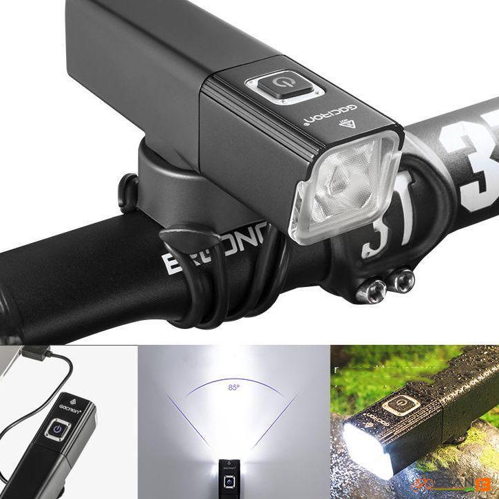 Light Gaciron V10-800 IPX6 USB Rechargeable Bicycle Light