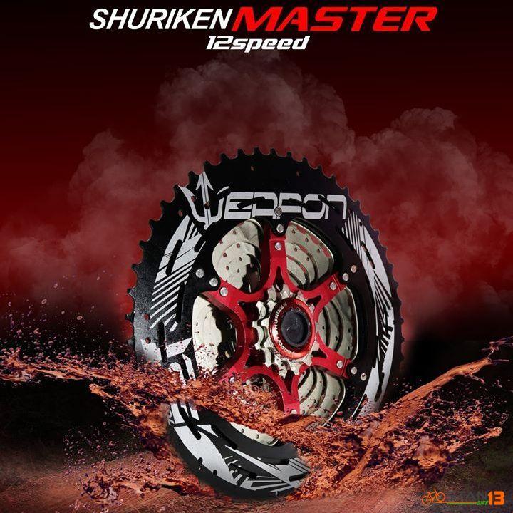 Cassette Weapon Shuriken Master 12 Speed 52T