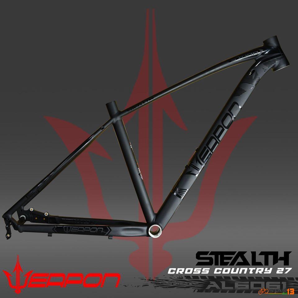 Frame Weapon Stealth 27.5 Internal Cabling Al6061
