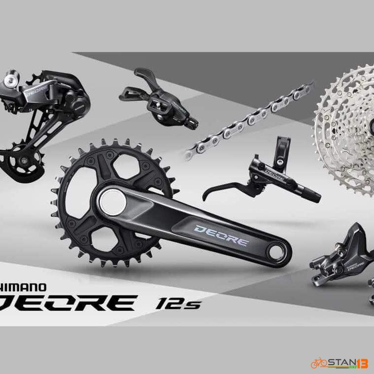 Groupset Shimano Deore M6100 12 Speed 1x12 2020 Model