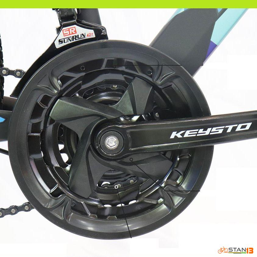 Keysto Alloy K008 Mountain Bike Internal Cabling Fork Lock Out