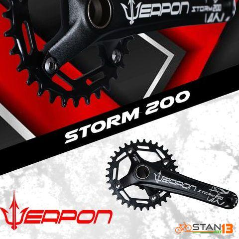 Crank Weapon STORM 200 Hollowtech Narrow Wide