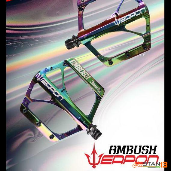 Pedal Weapon Ambush OIL SLICK 3 Sealed Bearing Pedal Super Smooth