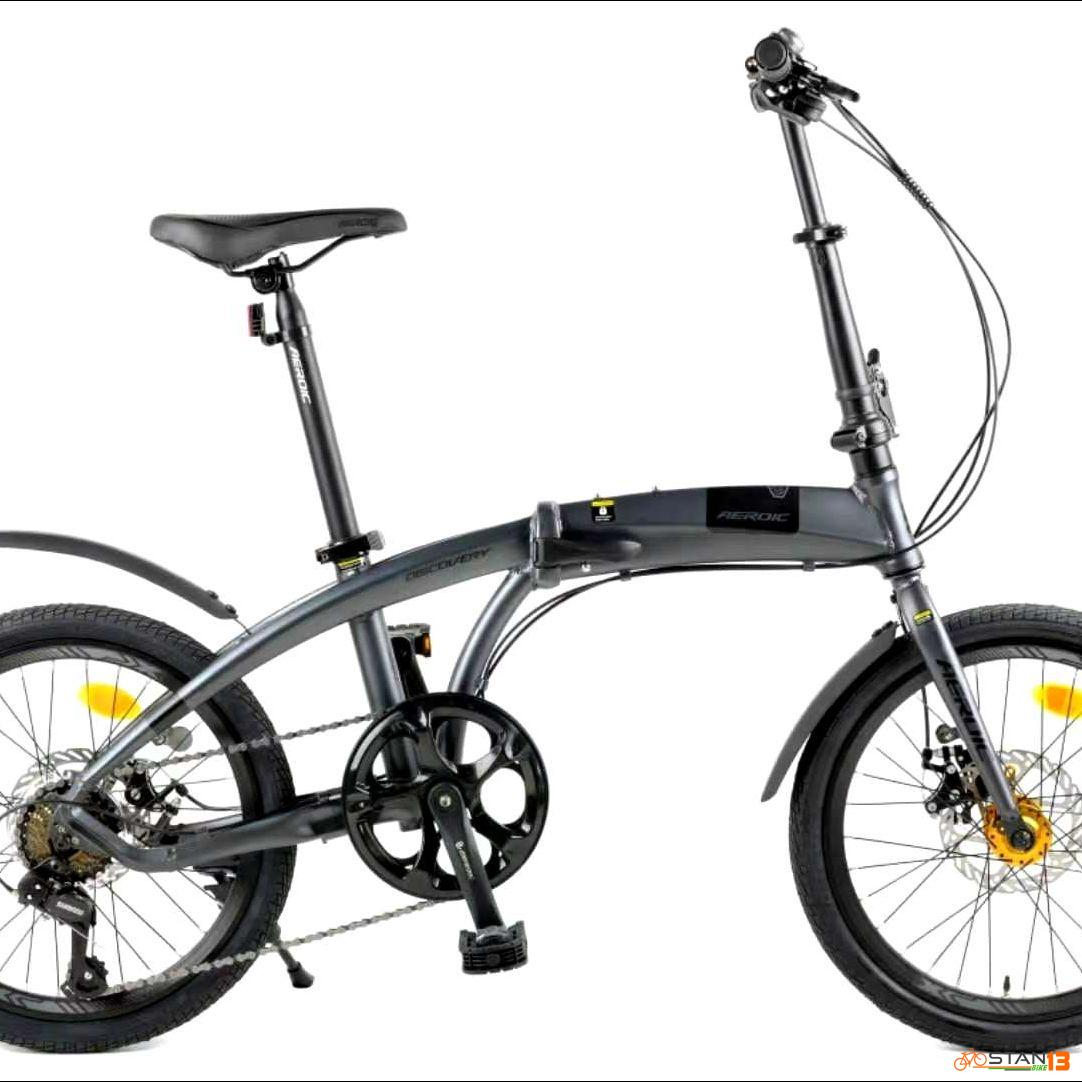 Aeroic Discovery by FOXTER ALLOY Folding Bike Shimano RD