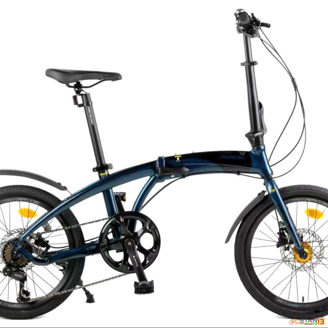 Aeroic Rover HYDRAULIC Brakes ALLOY FOLDING BIKE Made by FOXTER