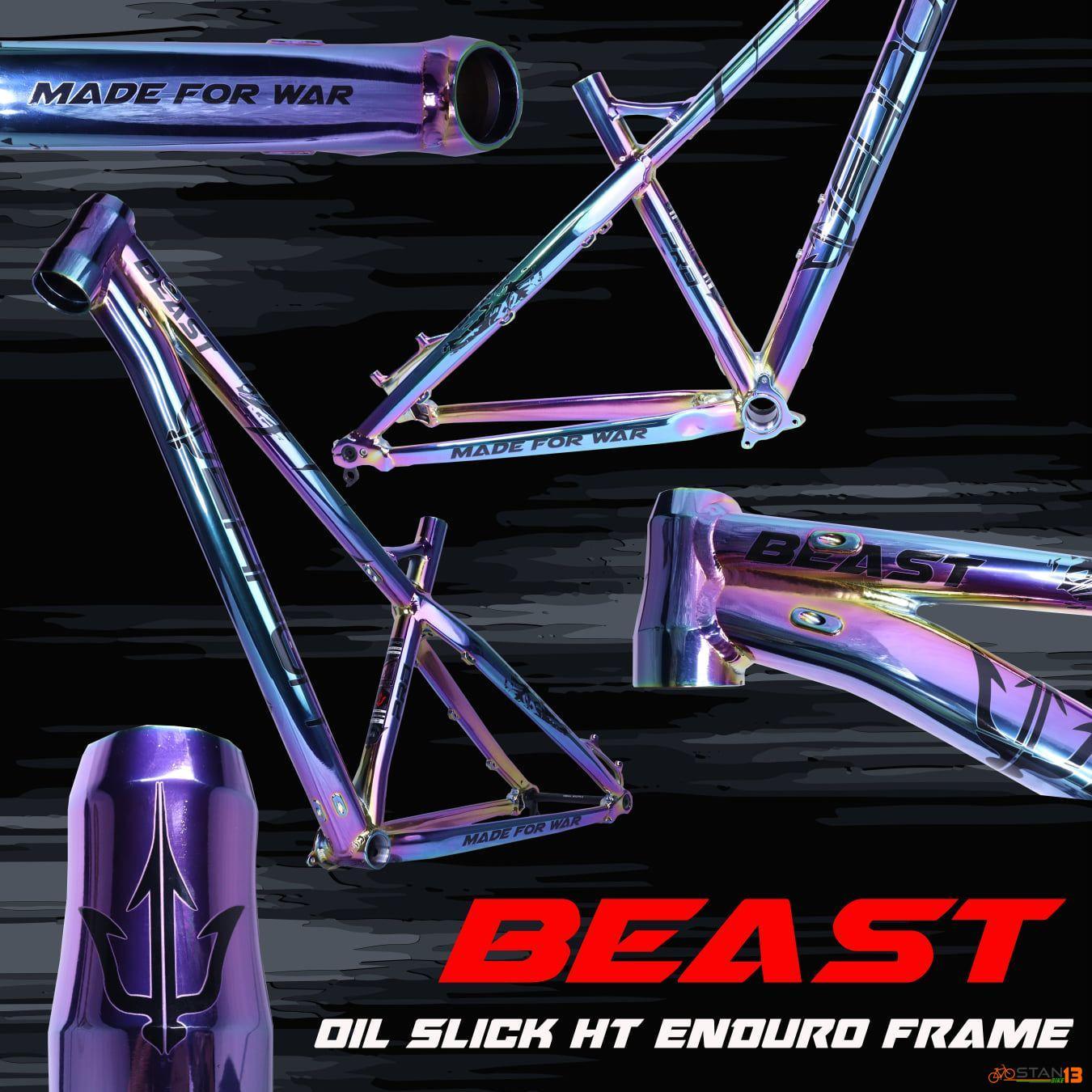 Frame Weapon BEAST Oil Slick Enduro 27.5 Frame Limited Edition