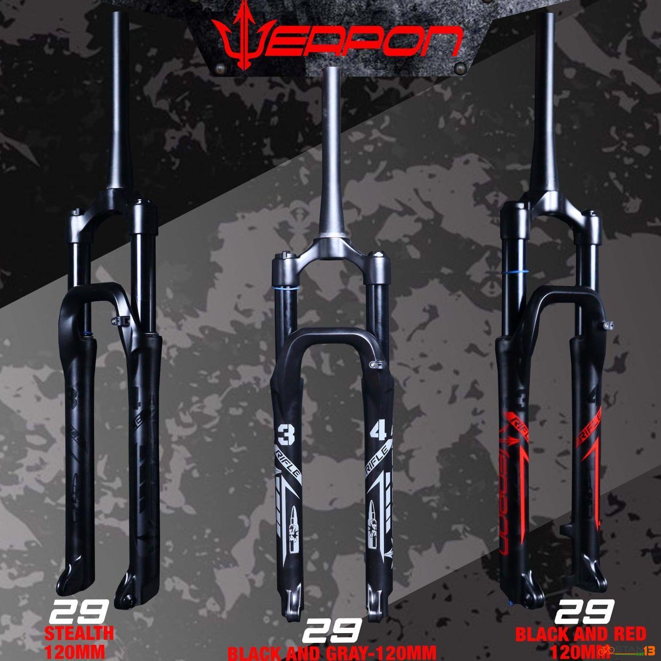 Fork Weapon Rifle All Mountain 34mm Air Thru Axle
