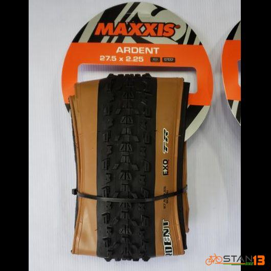 Tire MaxxisArdent EXO TR KEVLAR TANWALL Folding Tires 27.5 x 2.25 or 29 x 2.25 TUBELESS READY
