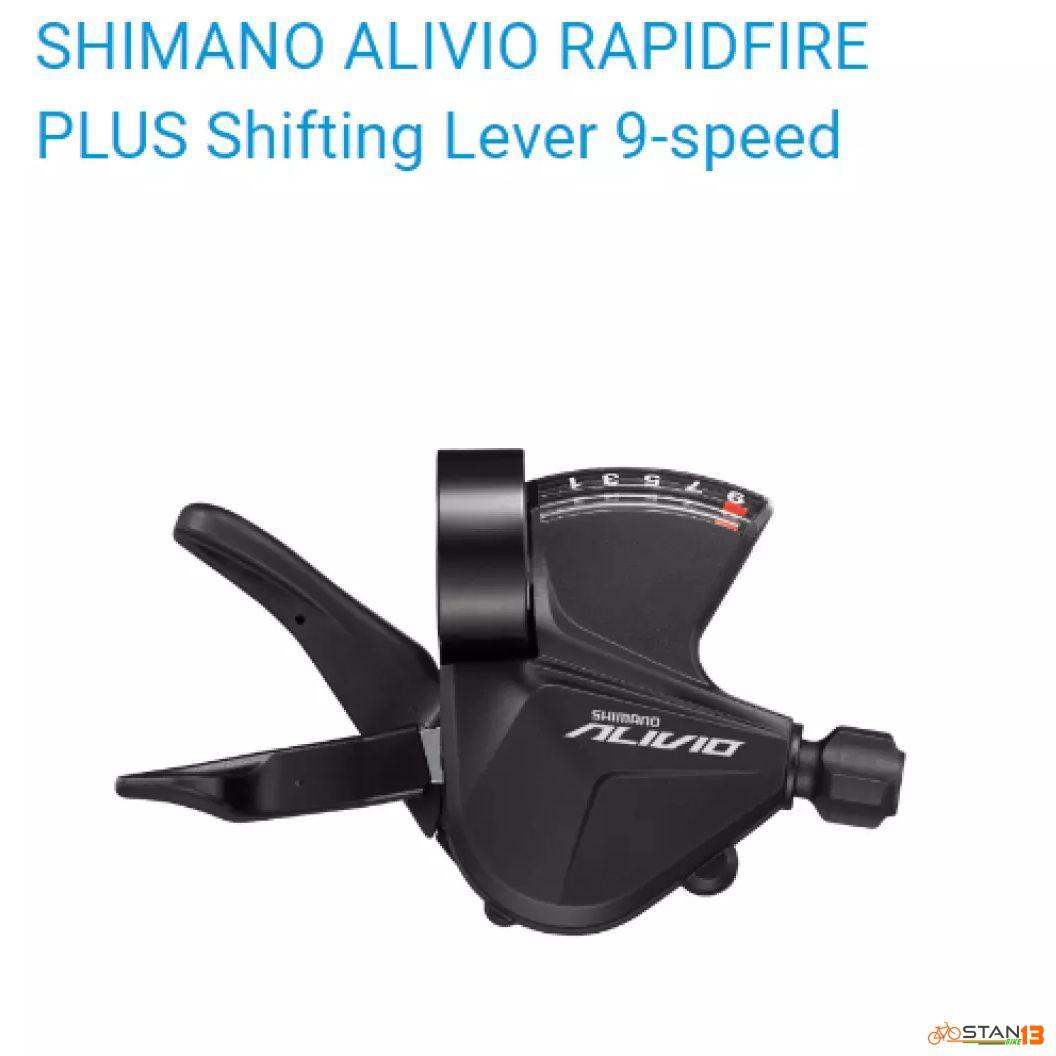 Shifter Shimano Alivio Shifter 9 Speed model 2021